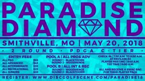 Dynamic Discs Presents: 2018 Paradise Diamond graphic
