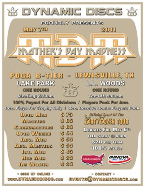Mothers Day Madness presented by Dynamic Discs graphic