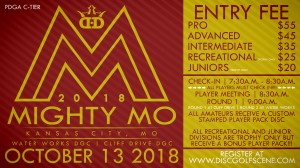 Dynamic Discs Presents: 2018 Mighty Mo (Water Works ONLY!!!!) graphic
