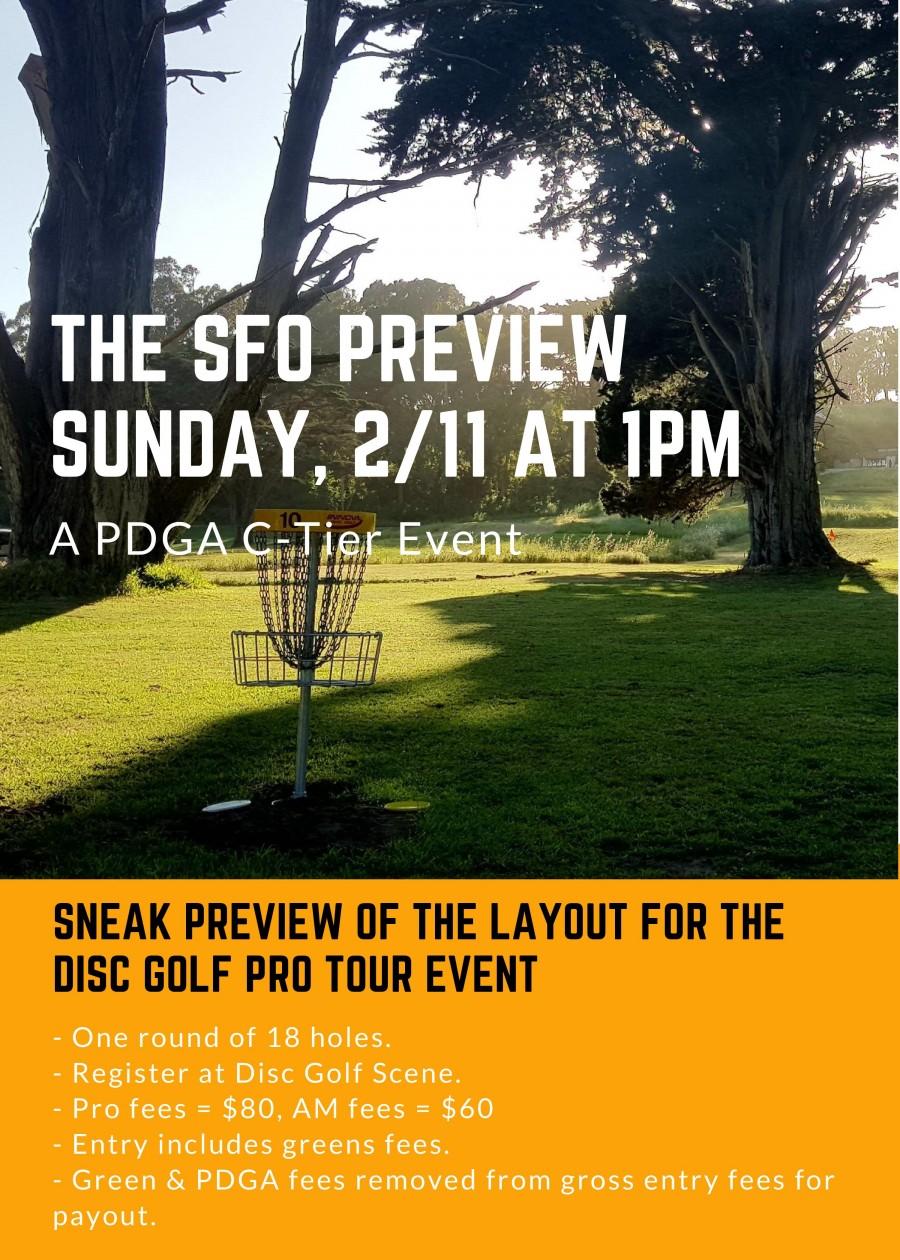The SFO Preview Graphic