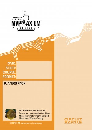 Lancaster MVP vs Axiom Fundraiser graphic