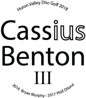 Cassius Benton graphic