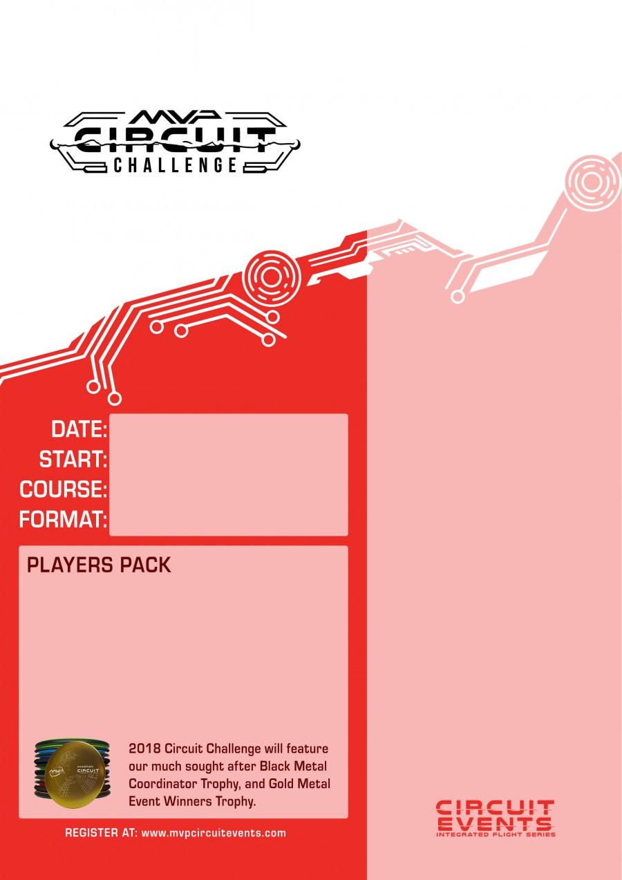 mvp circuit challenge 2018 template 2017 mvp disc sports disc