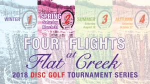 Flat Creek Spring Flight graphic