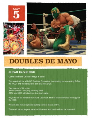 Doubles de Mayo HCO Fundraiser graphic