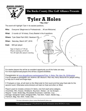 """Tyler A Holes """"The three Rs"""" graphic"""