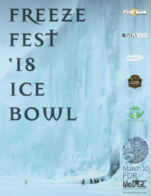 2018 FDR Freeze Fest Ice Bowl graphic