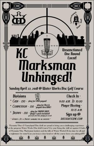 KC Marksman Unhinged graphic