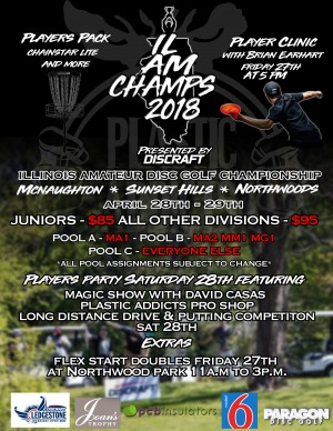 Discraft Presents: The 5th Annual Illinois Amateur Championships graphic