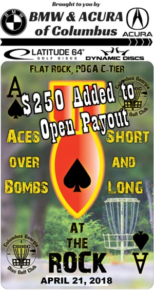 Aces over Bombs: Shorts and Longs at The Rock Sponsored by Latitude 64 graphic