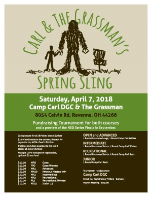 Carl and the Grassman's Spring Sling graphic