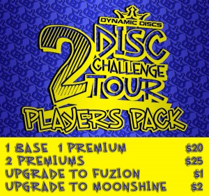 2 Disc Dubs presented by Latitude 64 graphic