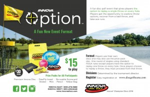 Innova Option Fundraiser for The Twin Falls Classic graphic