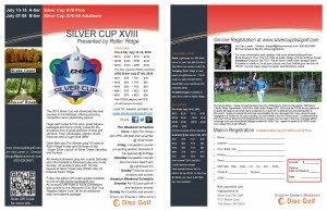 Silver Cup XVIII Pro presented by DGA and Rollin' Ridge graphic