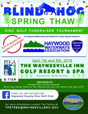 Blind Hog Spring Thaw at The Waynesville Inn Golf Resort and Spa graphic
