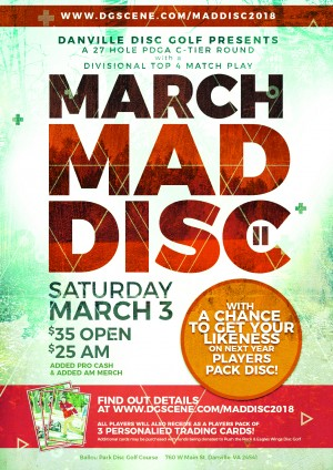 March Maddisc II graphic