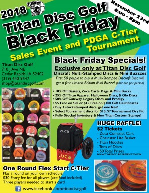 3rd Annual Black Friday Frenzy graphic