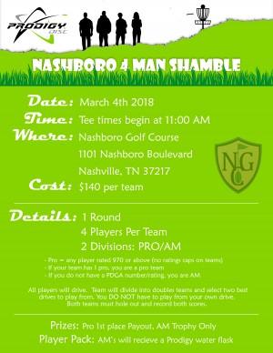 Nashboro 4-Man Shamble graphic