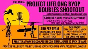 Project Lifelong BYOPartner Doubles Shootout graphic