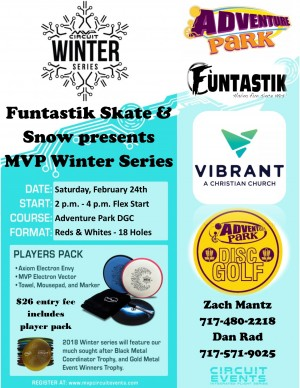 Funtastik Skate & Snow presents MVP Winter Series graphic
