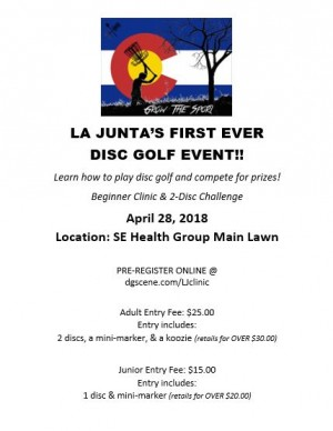 La Junta Beginners Clinic / Dynamic 2-Disc Challenge graphic