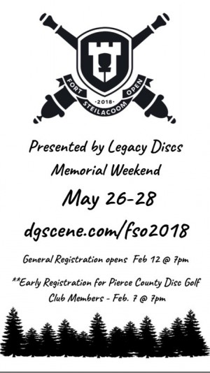 Fort Steilacoom Open presented by Legacy Discs graphic