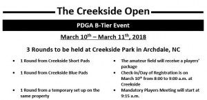 Creekside Open graphic