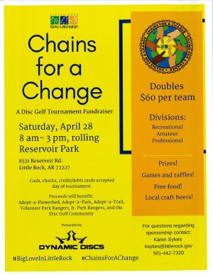 Chains for a Change, A Fundraiser graphic