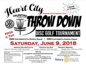 3rd Annual Heart City Throw Down graphic