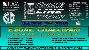 ZBOAZ Challenge - Throw the Line Tour Event graphic