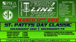 St. Patty's Day Classic - Throw the Line Tour Event graphic
