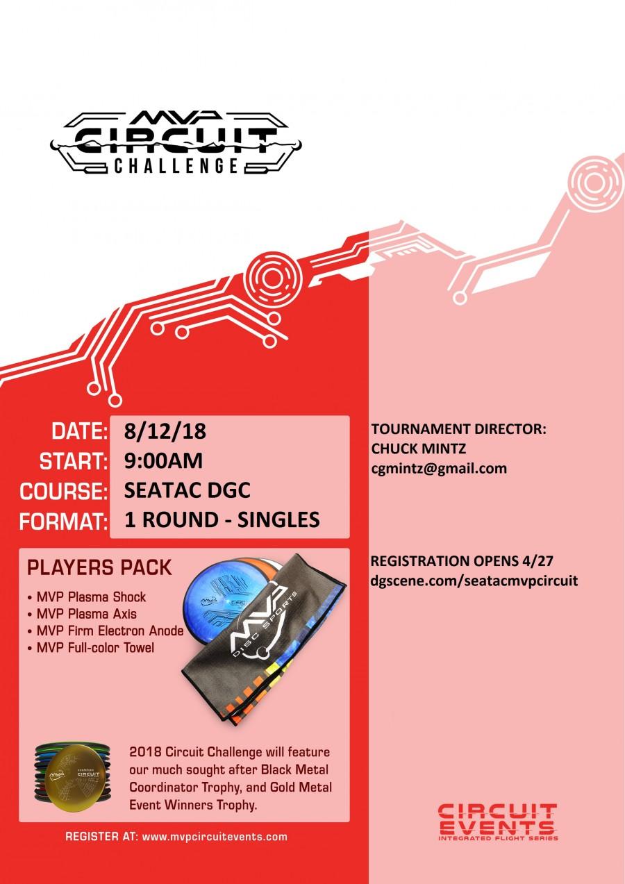 Mvp Circuit Seatac 2018 Chuck Mintz Disc Golf Scene Opens In A Series Graphic