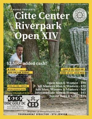 Citte Center Riverpark Open XIV Pro GDG $5K/$10K event graphic
