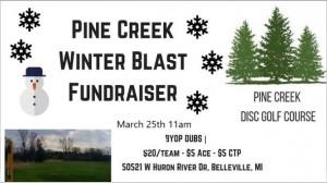 Pine Creek Winter Blast Fundraiser (rescheduled) graphic