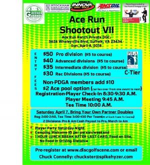 Spike Hyzer's:Ace Run Shootout graphic