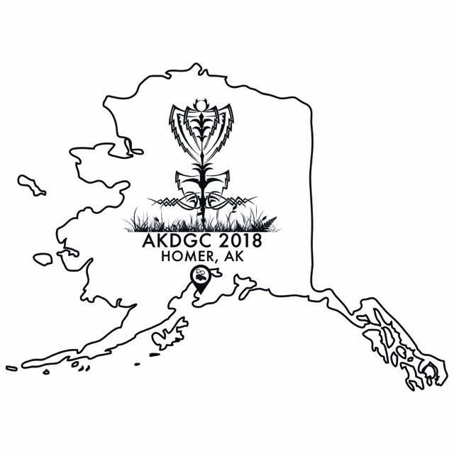 17th Annual Alaska Disc Golf Championships 2018 Moose Pretzel Disc