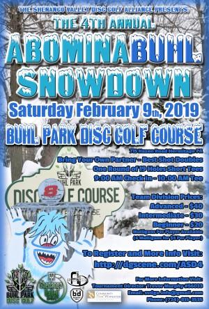 4th Annual AbominaBUHL Snowdown graphic
