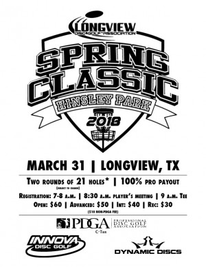 Spring Classic at Hinsley Park graphic