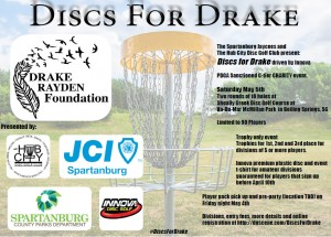Discs for Drake driven by Innova graphic