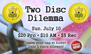 2 Disc Dilemma graphic