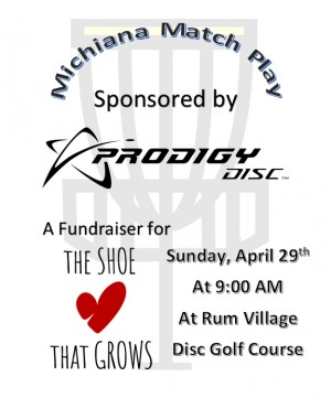 Michiana Match Play sponsored by Prodigy Discs graphic