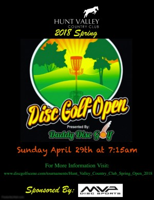 Hunt Valley Country Club Spring Open graphic