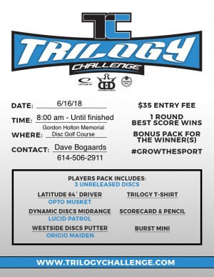 Delaware Trilogy Challenge - Sponsored by DiscGolfBoxes.Com graphic