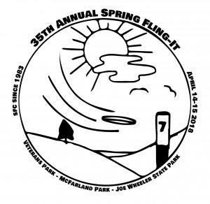 Spring Fling Warmup Series - Veterans/McFarland graphic