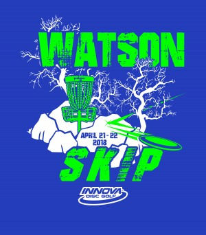 Watson Skip Presented By INNOVA Disc Golf graphic