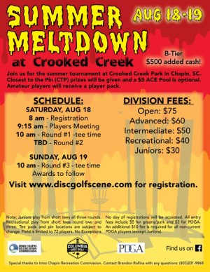 The Summer Meltdown at Crooked Creek (GDG $5k/$10k Event) graphic