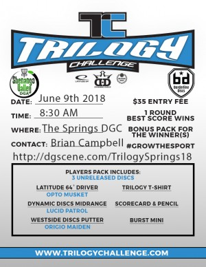 2018 Trilogy Challenge at The Springs graphic
