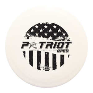 2nd Annual Patriot Open presented by Prodigy Disc graphic
