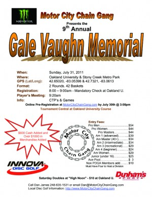 Gale Vaughn Memorial graphic