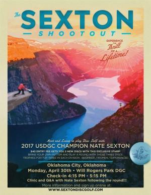 Nate Sexton 3 Disc Challenge graphic